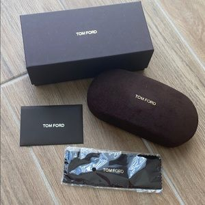 Tom Ford sunglass case and box